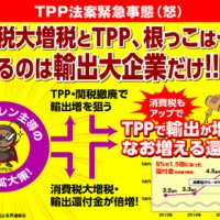 TPP法案緊急事態